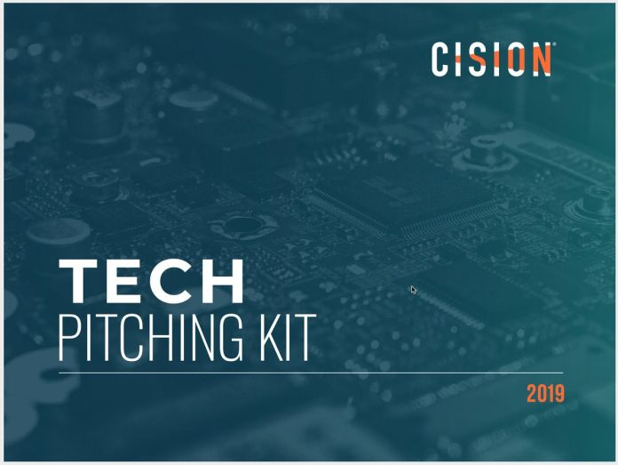 Cision 2019 Tech Pitching Kit cover