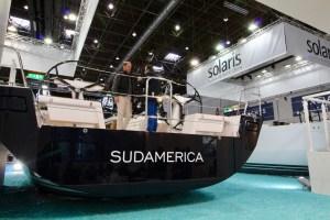 Solaris Yachts stern
