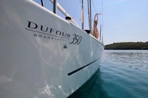 HighTide.cc Dufour 350 Kroatien Segeltörn buchtenbummeln dufour 350