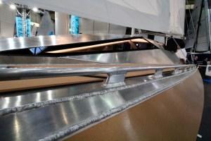 Superlounger 8500 Daycrusier boot düsseldorf alufleet aluminum