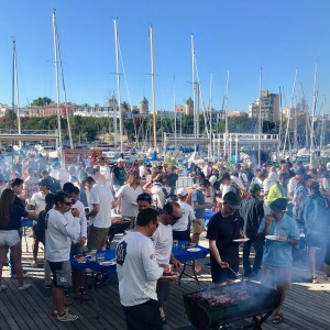 Palmavela AfterRace BBQ RCNP Sailracing