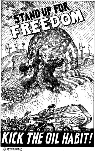 The Oil-less Uncle Sam