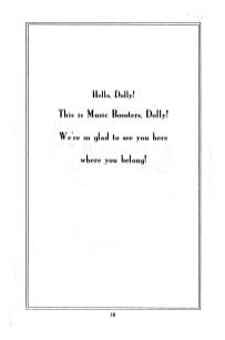 Hello Dolly Program p020