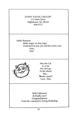 Hello Dolly Program p039