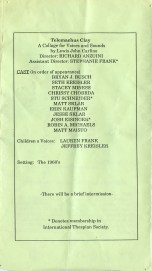 One-Acts 1991 p3