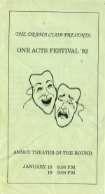 One Acts Festival '92 p1