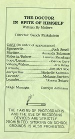 One Acts Festival '92 p2