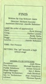 One Acts Festival '92 p3