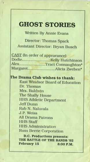 One Acts Festival '92 p6