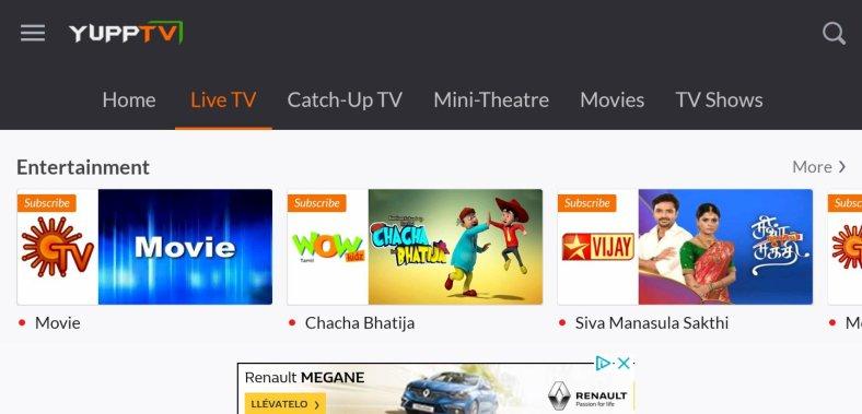 best Jio TV Alternative app Android/ iPhone