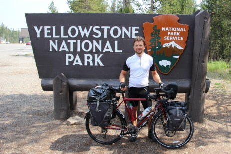 After 1800 miles, I think I earned a visit to a National Park