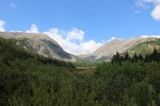 Climb towards Hoosier Pass