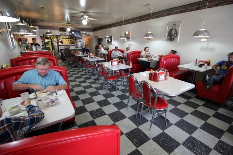 Classic american diner, Fordsville, KY
