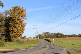 Outside Fredericksburg, VA, on my way to DC