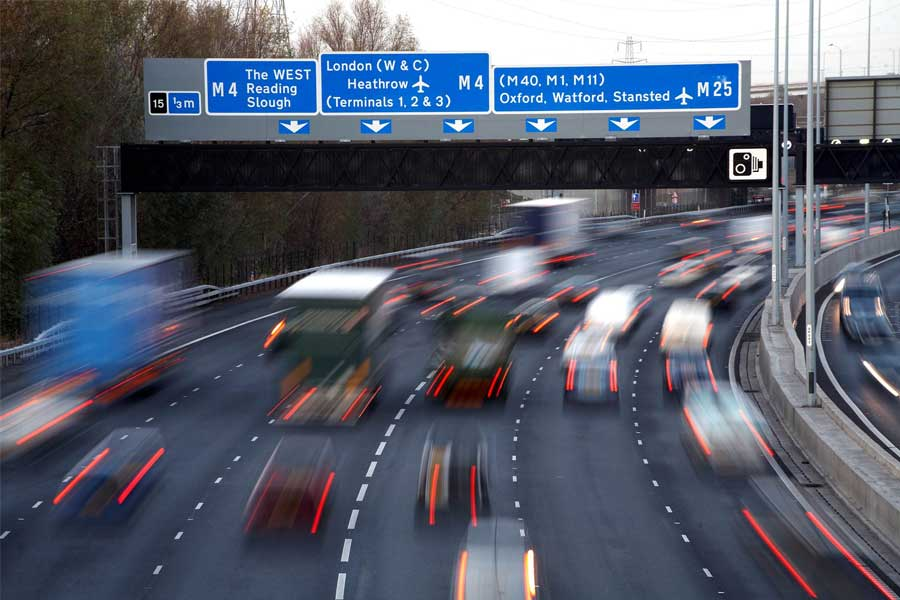 Image result for motorway slipstream on the M25