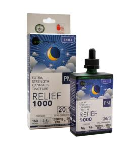 20:1 Relief 1000 PM Tincture 1050mg