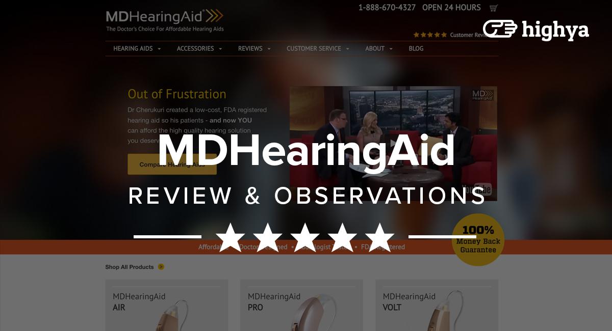 Mdhearingaid Reviews Is It A Scam Or Legit