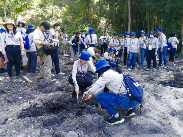 """HII participated in """"TCP Spirit – River Basin Nursing"""" bringing volunteers to learn Community Water Resource Management"""