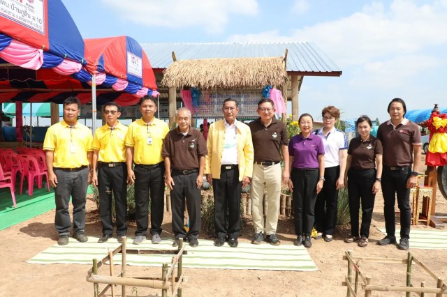 HII collaborated with Utokapat Foundation under Royal Patronage of H.M. the King to open Live Museum on Community Water Resources Management at Ban Non Tae, Chaiyaphum province