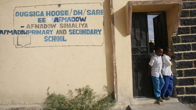 A school in Afmadow, Jubbaland in Somalia in this picture taken on January 24, 2014. FILE PHOTO | EVANS HABIL | NMG