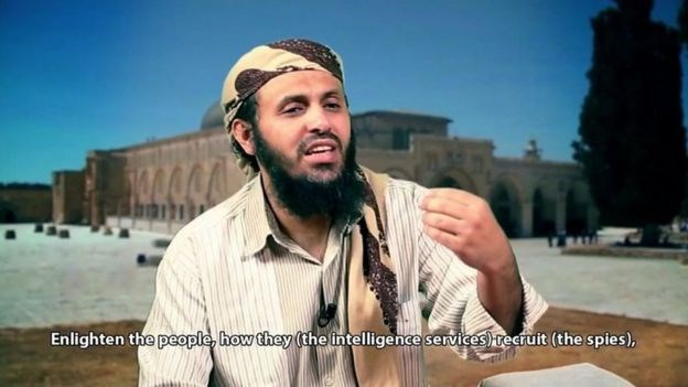 AQAP's late leader Qasim al-Raymi had warned against spies in a long-running video series.AQAP PROPAGANDA