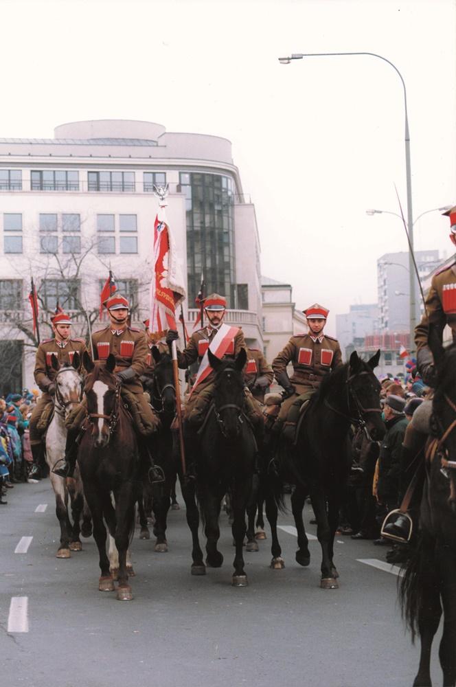 Pierwszy udział kawalerii od1938 r. wŚwięcie Niepodległości