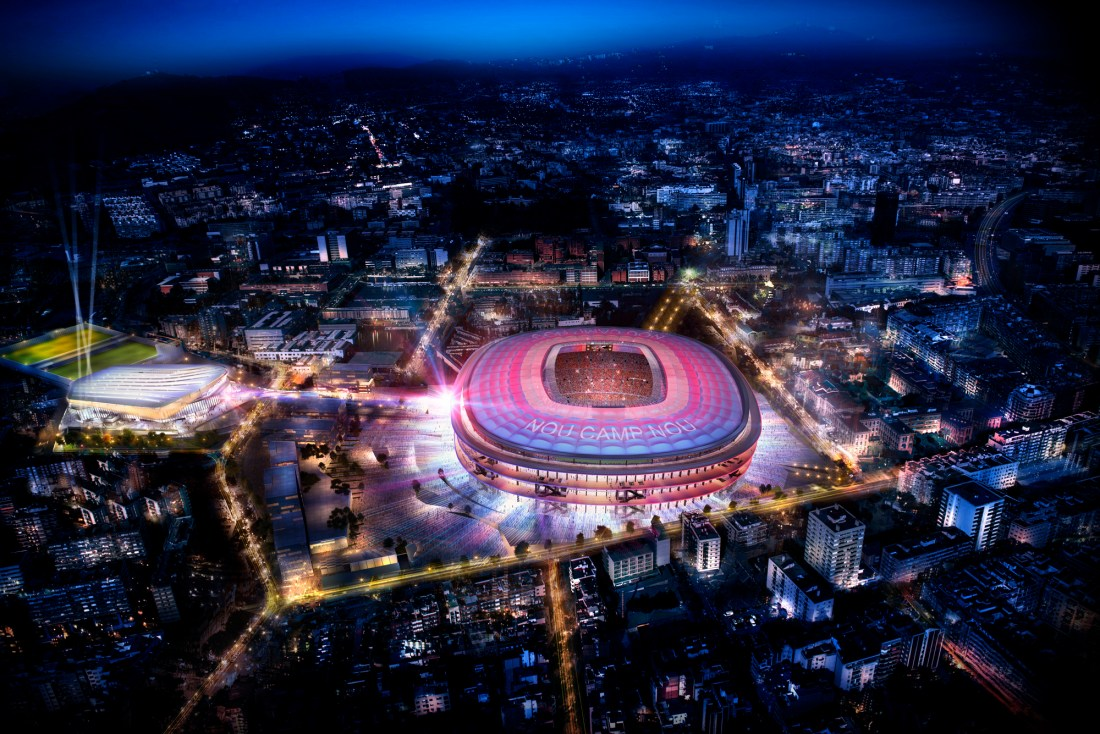 Spain Itinerary: Nou Camp