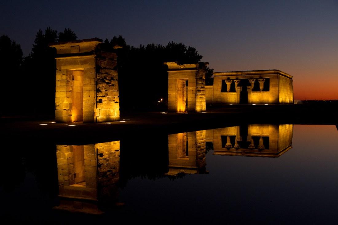Spain Itinerary: Templo de Debod