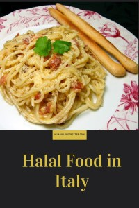 Halal food in Italy: Pinterest