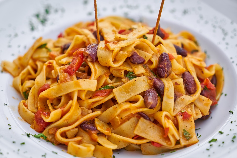 Halal Food in Italy: Pasta