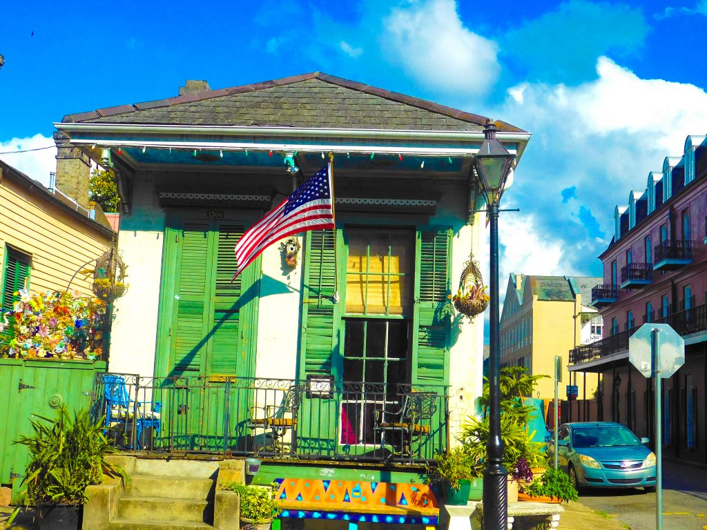 New Orleans Style House: Shotgun
