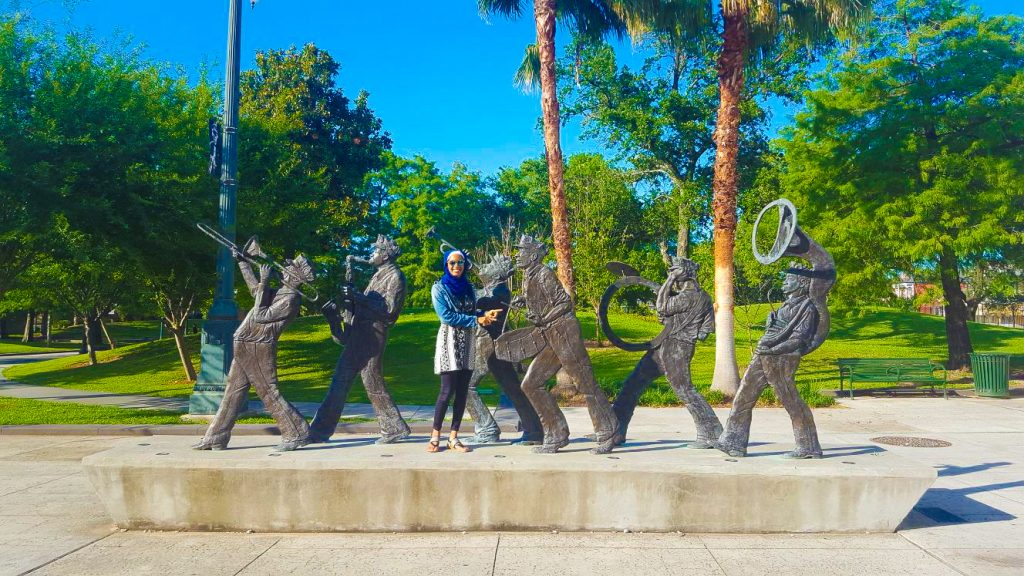New Orleans Itinerary: Louis Armstrong Park