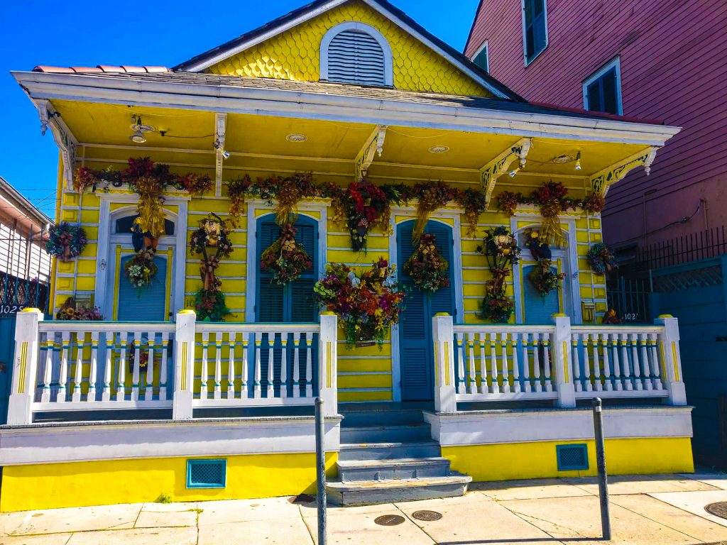 New Orleans Style House: Shot gun style