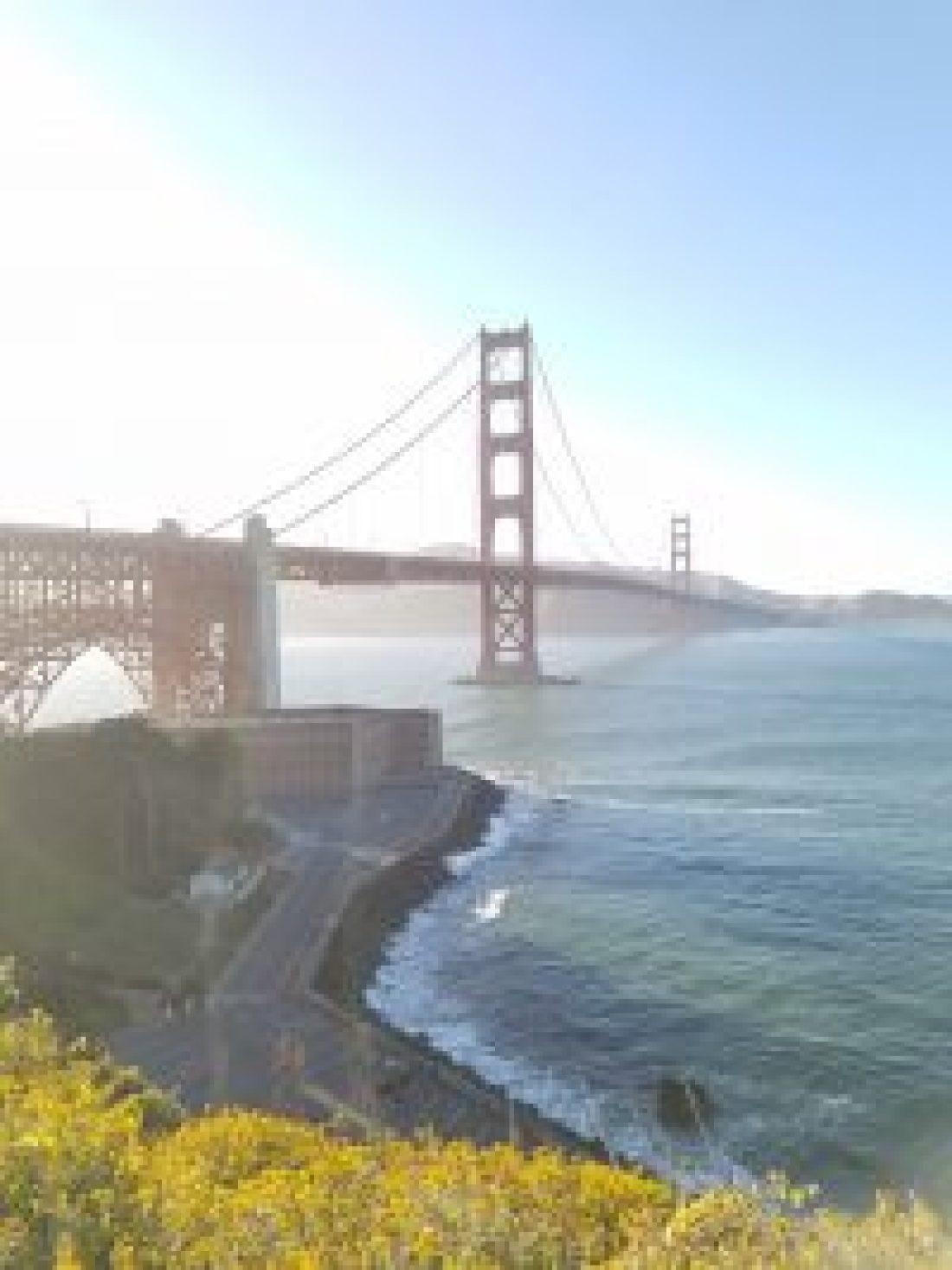 San Francisco Itinerary for 4 days: Golden Gate Bridge