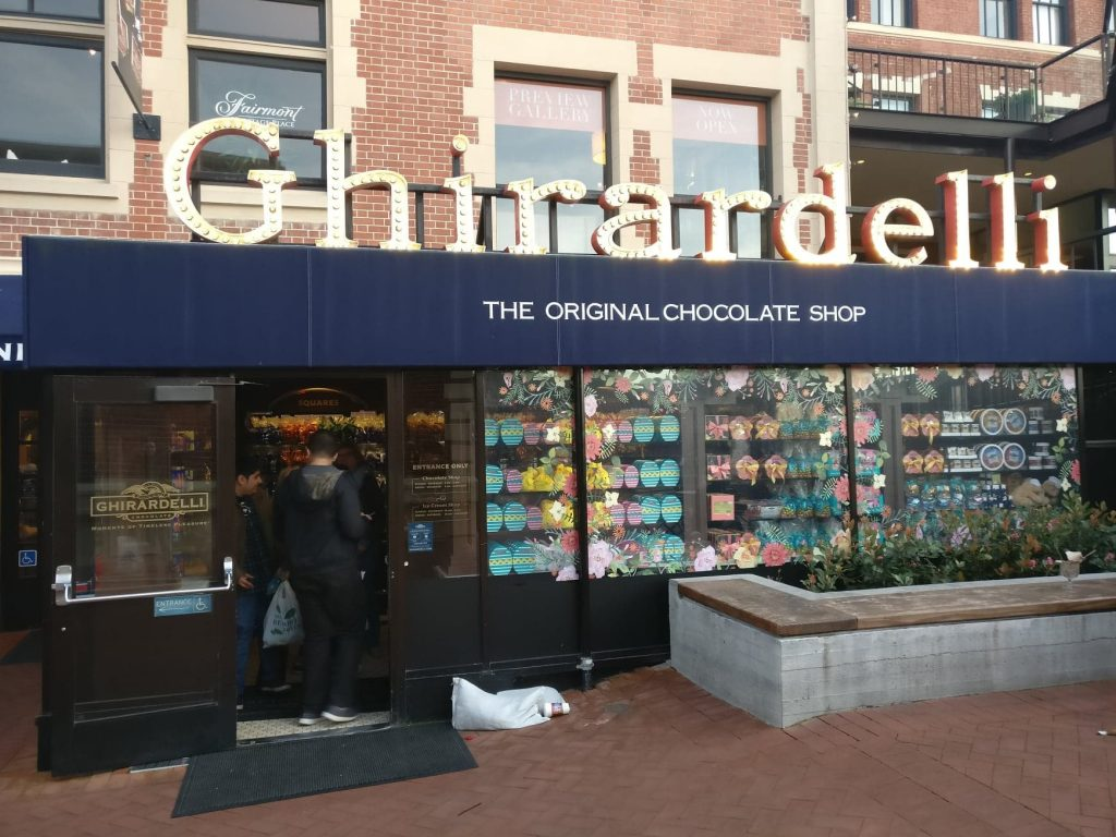 San Francisco Itinerary for 4 days: Ghirardelli