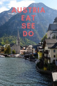Austria Itinerary: Pinterest