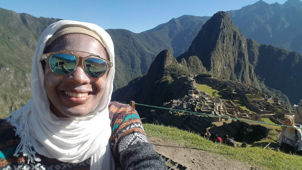 Machu Picchu Hike- Peeled Skin