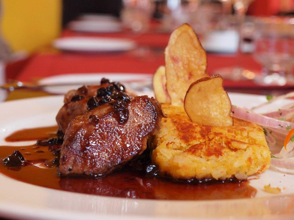 Peruvian Dishes: Alpaca Steak