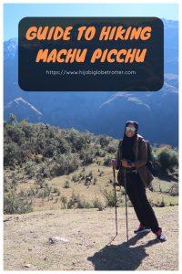 Machu Picchu Hike: Pinterest