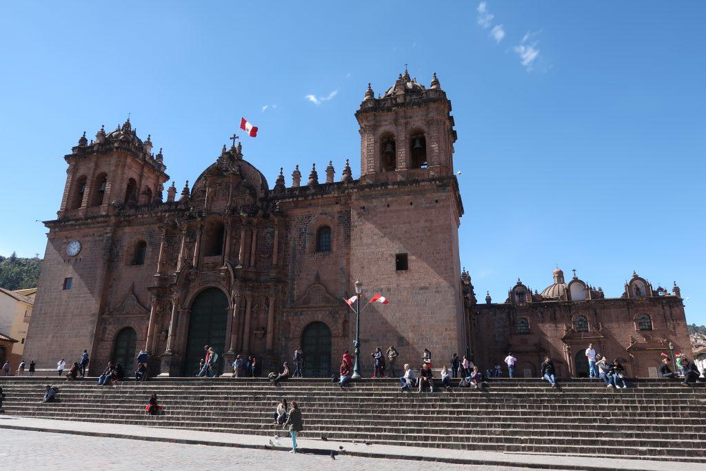 Peru Itinerary: Plaza de armas Cusco