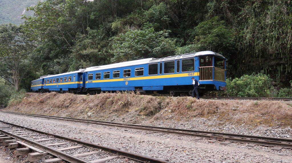 Peru Itinerary: Train Station