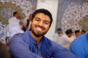 Hummam on his journey to study Arabic