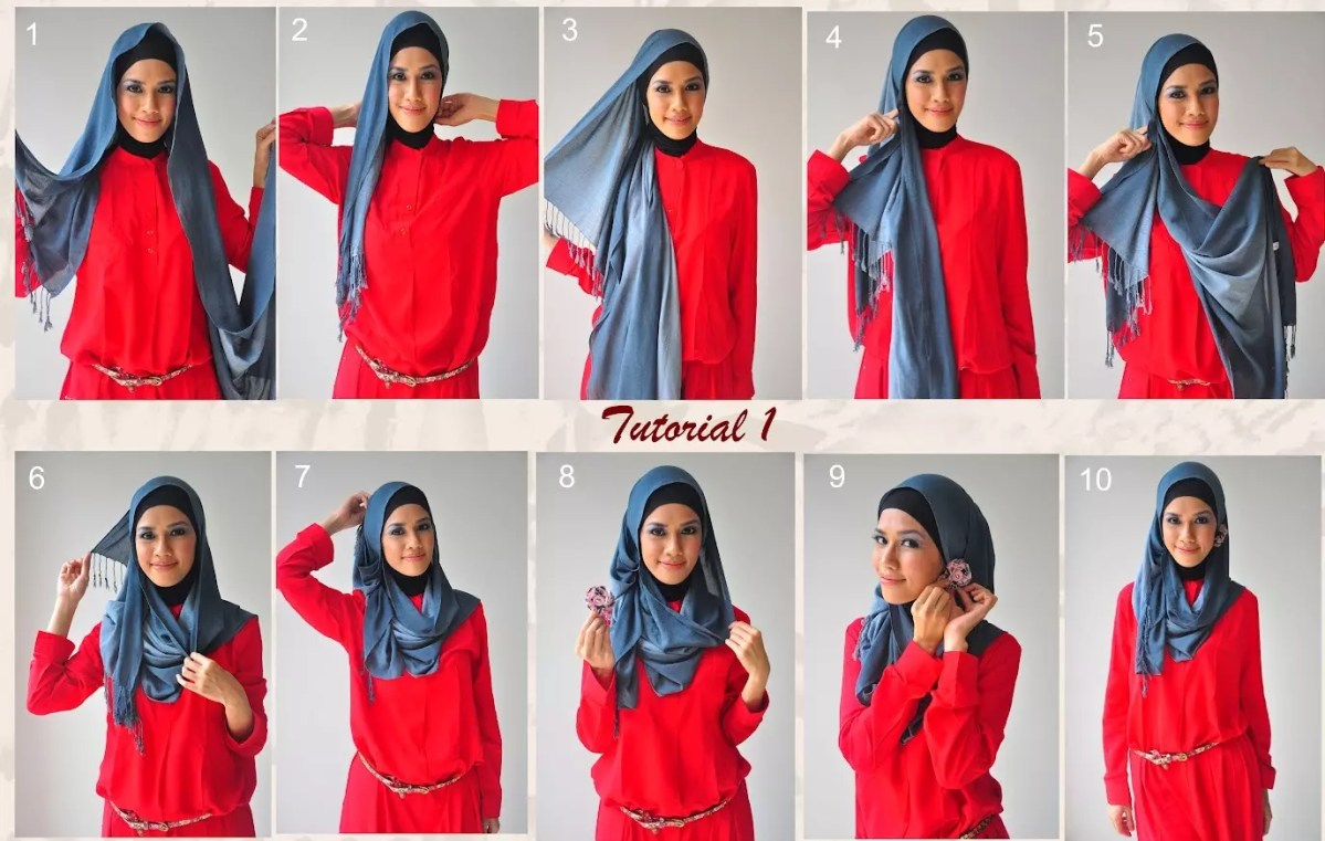 How To Wear Different Hijab Styles For Long Faces