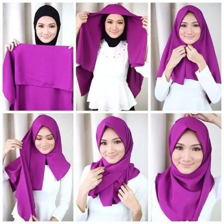 Hijab and 2 Square scarf