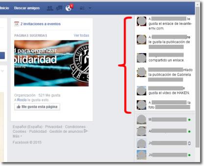 Qué es y cómo funciona la información instantánea de Facebook
