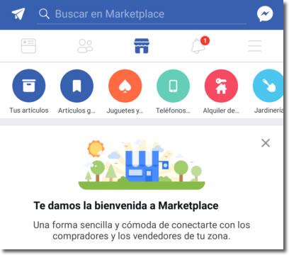 Marketplace, para comprar y vender por Facebook en nuestra zona