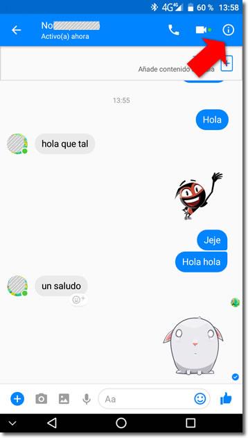 Conversaciones secretas y que desaparecen en Messenger