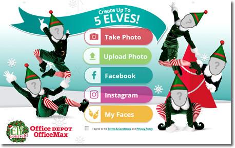 Felicita estas navidades con ElfYourself y sus vídeos de Elfos