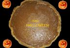 pastel de calabaza halloween
