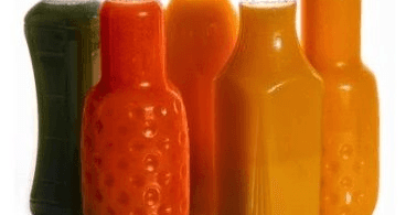 zumos envasados
